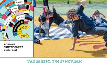 Veel uitdagingen bij Cultuur@CruyffCourts Venlo-Oost